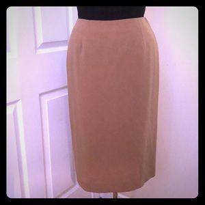 Camel Pencil Skirt-NWOT